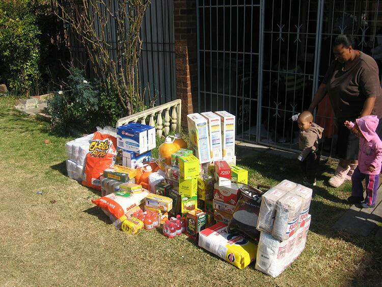 - Food & Groceries to Bellavista Community Feeding & Childcare