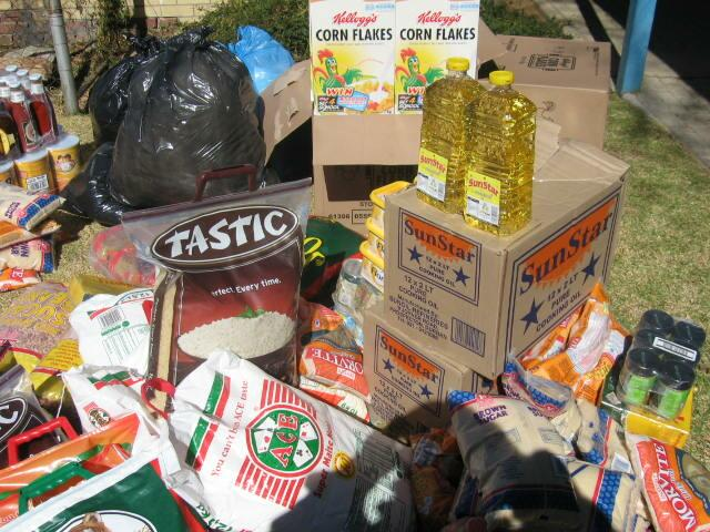 - Food & Groceries to St Mary's Children's Home