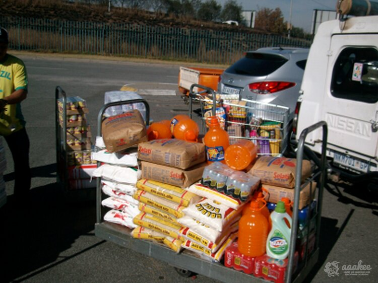 - Catherine Robson Children's Home Gets Groceries for Two Months