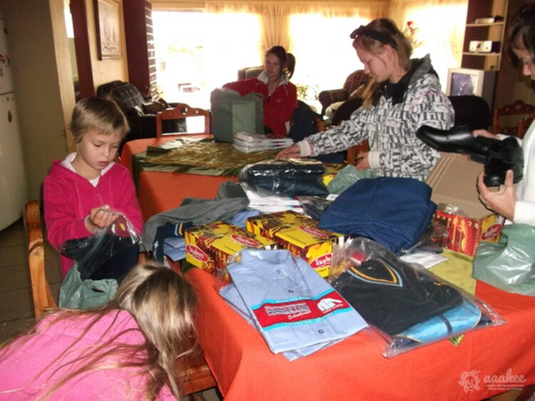 - Beating The Cold: Winter Uniforms to the Lerato Youth and Child Care Centre