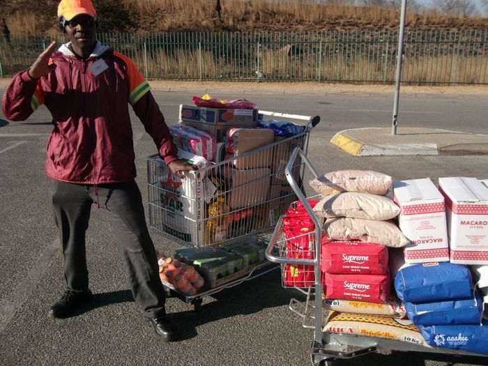 - Food Parcels to the Christ Passion Meals on Wheels