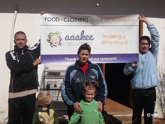 - Two children in Springs receive new clothes
