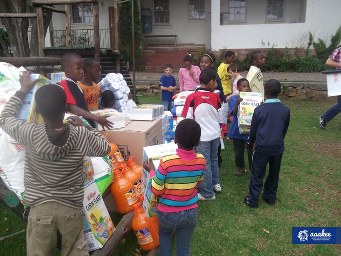 - Food and groceries to St. Mary's