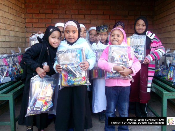 - Stationery packs to Jumma Musjid & Educational Institiute