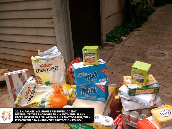 - Food and grocery consignment to Jeppestown family