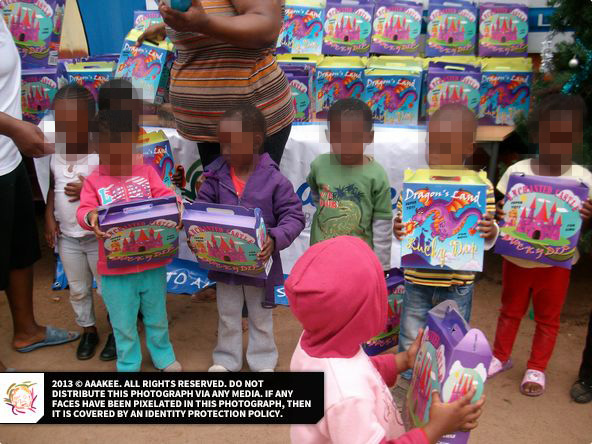 - Christmas Gifts to Reamogetswe Resource Centre in Muldersdrift