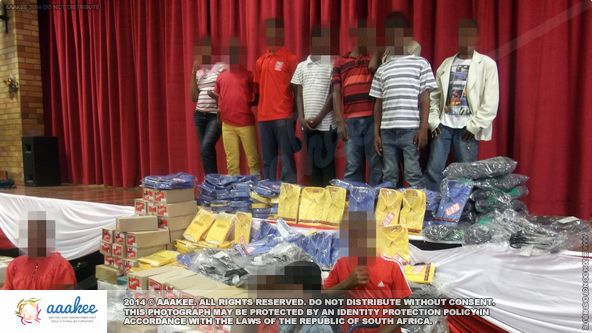 - Summer school uniform consignment to the Ithembelihle Lsen School for Disabled Children