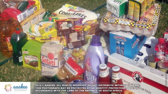 - Food and groceries to family in Primrose