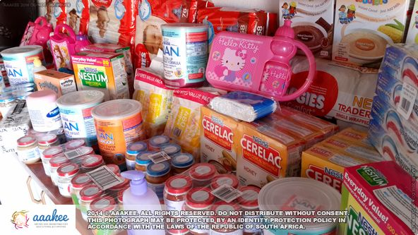 - Baby foods and more donated to Bethany Home