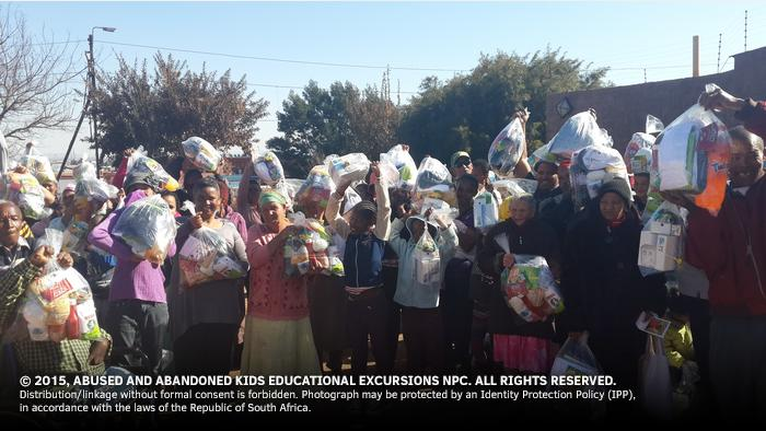 - 250 Hampers for Mandela Day 2015