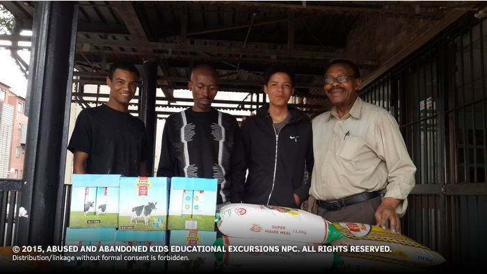 - Food and Groceries Consigned to Meals on Wheels Johannesburg