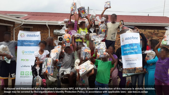 - Stationery packs donated to Polokong Children's Village