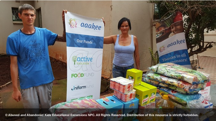 - Consignment of food and groceries to the Impilo Early Development Centre