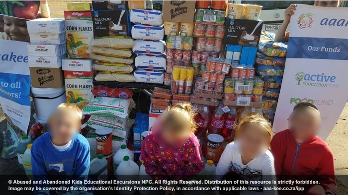 - Food and grocery consignment to Lerato Child & Youth Care Centre