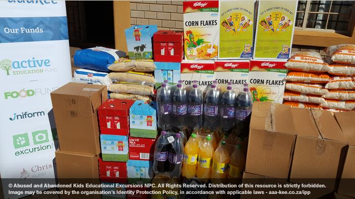 - Food, drinks, and pizza bases donated to Laura Vicuna Education Centre