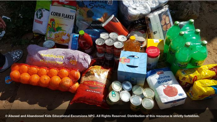 - Food to three families in Bez Valley and Bertrams