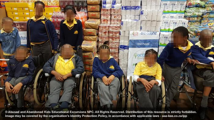 - Food and groceries donated to Ithembelihle Lsen School in Primrose