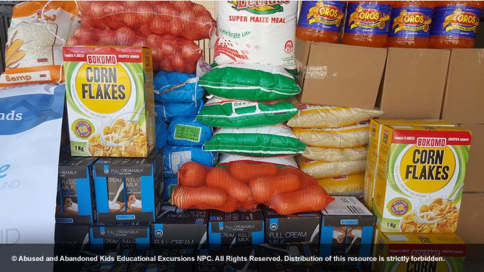 - Food and grocery donation to Meals on Wheels Johannesburg
