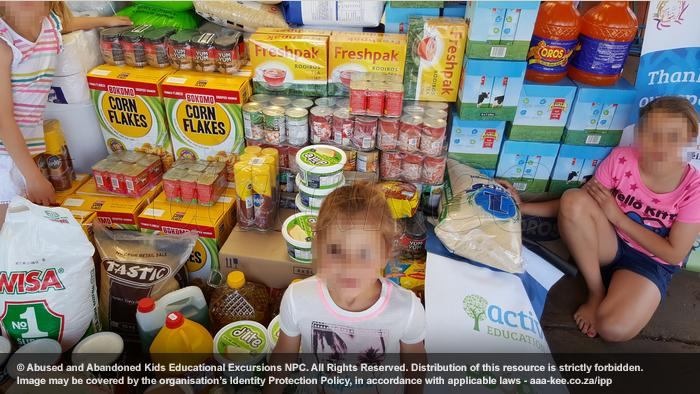 - Food and groceries donated to Lerato Child and Youth Care Centre