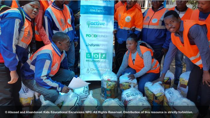 - Community initiative: Food hampers to Jeppe SAPS