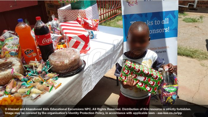 - Christmas Party at Polokong Children's Village in Evaton