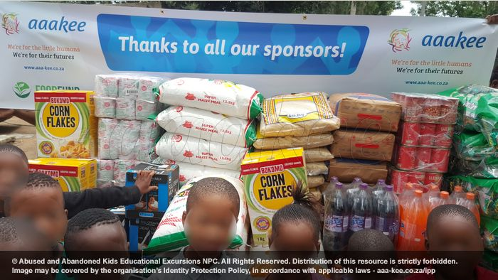 - Food Fund consignment to Reamogetswe Resource Centre, Muldersdrift