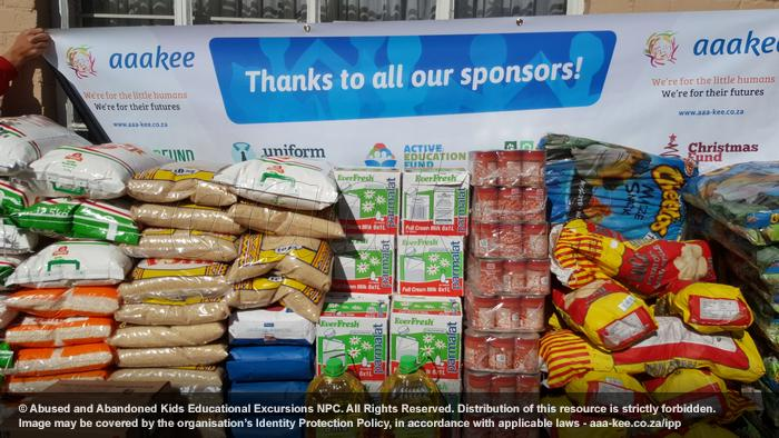 - Food Fund consignment to Abraham Kriel Childcare, Langlaagte Campus