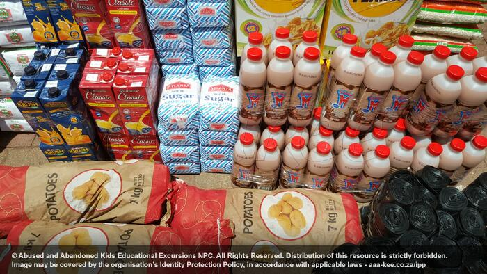 - Food Fund consignment to Abraham Kriel Childcare Langlaagte Campus