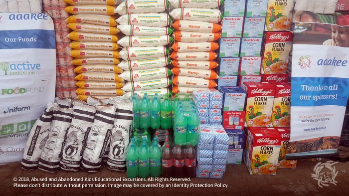 - Food consignment to Polokong Children's Village