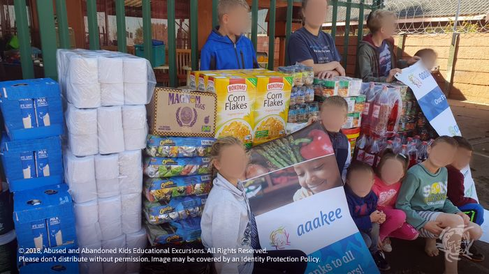 - Food and groceries consigned to Lerato Child & Youth Care Centre