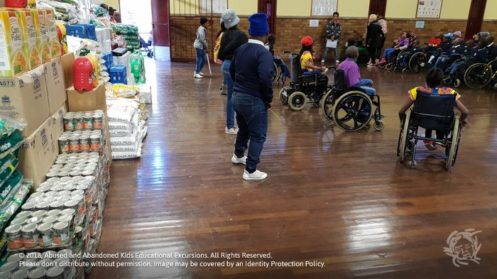- Food and grocery consignment to Ithembelihle Lsen School