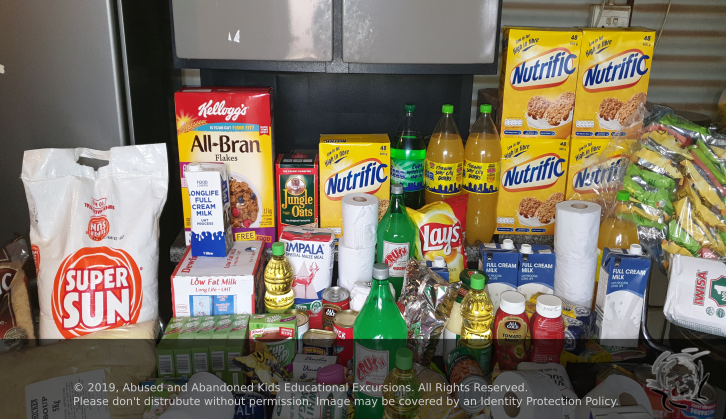 - Family in need in Meyerton with groceries