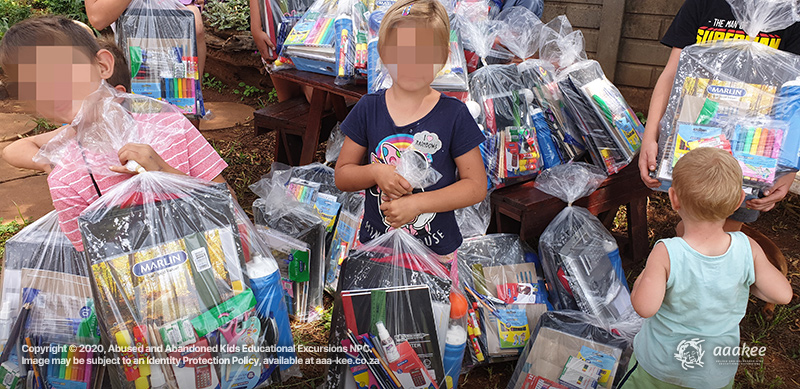 - Stationery Donation to the Lerato Child and Youth Care Centre
